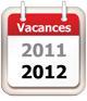 calendrier vacances scolaires 2011 2012